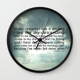 Dream Run Wall Clock