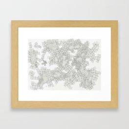 Not Ape Framed Art Print