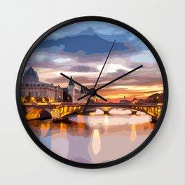 Budapest city! Wall Clock