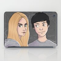paper towns iPad Cases featuring Paper Towns by Joan Pons