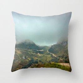 Peaks of Europe Throw Pillow