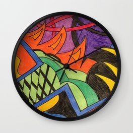 Jalepeno Boost Wall Clock