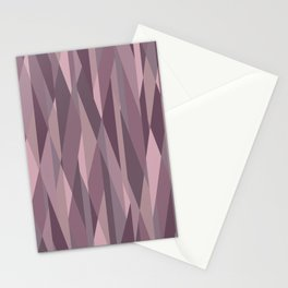 pink pastel geometric Stationery Cards