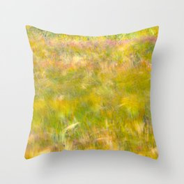 Wind Painting Throw Pillow