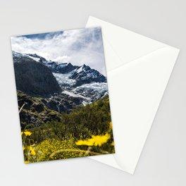 Flower Glacier Stationery Cards