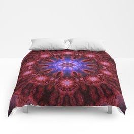 Cosmic Aura Mandala Comforters