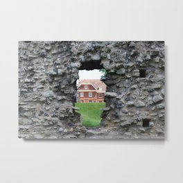 Within the Walls of The Tower of London Metal Print