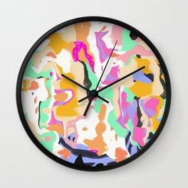 Funky Animals Wall Clock