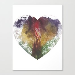 Princess Pig Bun's Heart Shaped Vag Canvas Print