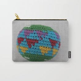 Colored fabric Carry-All Pouch