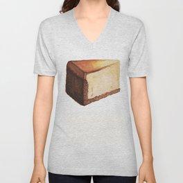 Cheesecake Slice Unisex V-Neck