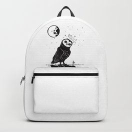 It's Time to go now. Backpack