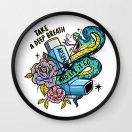 Poison of Choice: Arsenic Inhaler Wall Clock