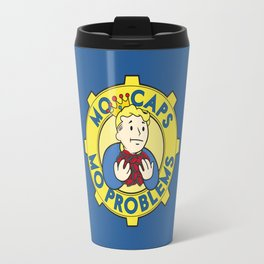 Mo Caps, Mo Problems Travel Mug