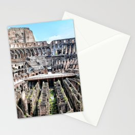 Roma, Colosseo interno   Rome, inside colosseum Stationery Cards
