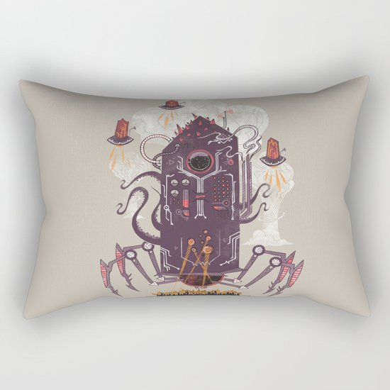 Not with a whimper but with a bang Rectangular Pillow