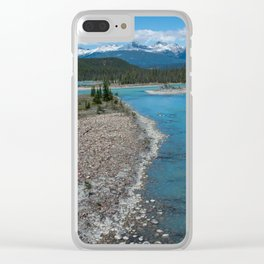 Athabasca River Photography Print Clear iPhone Case