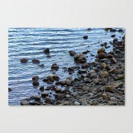 Water's Edge at Walden Pond 2 Canvas Print