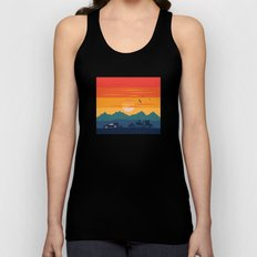 Back to the Wild West Unisex Tank Top