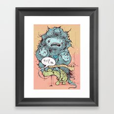 Sorry, but there is no heaven for you Framed Art Print