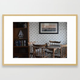 Vermont Country Kitchen Framed Art Print