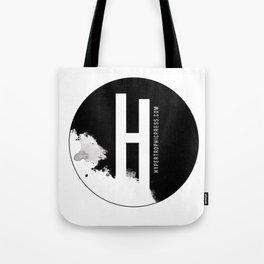 Hypertrophic Press Circular Logo Tote Bag