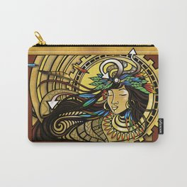 The Wind Gourd of La'amaomao ~ Urban Indigenous Version Carry-All Pouch