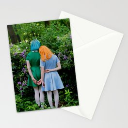 sara and laetitia at kornerpark Stationery Cards