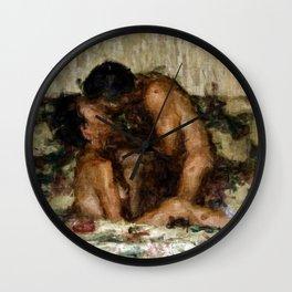 I Adore You Wall Clock