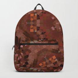 Hardwood Hill Brown Kaleidoscope Backpack