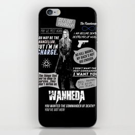 Clarke Griffin - Quotes The 100 iPhone Skin