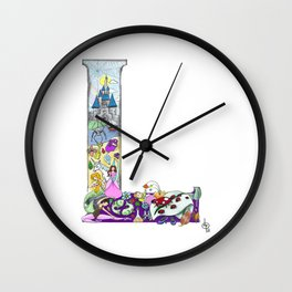 L is for Lucca Wall Clock