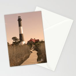 Fire Island Lighthouse Stationery Cards
