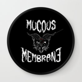 Mucous Membrane Wall Clock