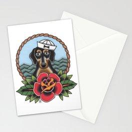 Sailor Sausage Dog Stationery Cards