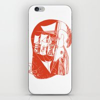 moby dick iPhone & iPod Skins featuring Moby Dick by Paul McCreery