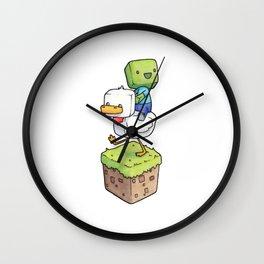 Baby Zombie Wall Clock
