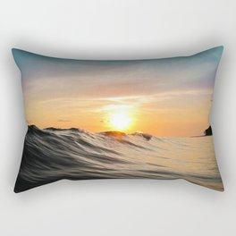 Sunset in Paradise Rectangular Pillow