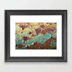'Rust' Framed Art Print