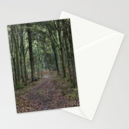 Footpath through the Oaks Stationery Cards