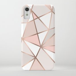 Rose Gold Perseverance iPhone Case