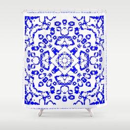 CA Fantasy Blue series #7 Shower Curtain