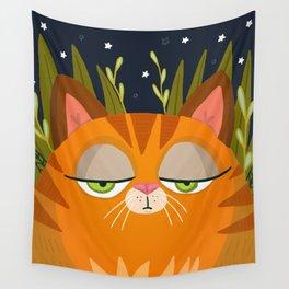 Fat Cat Wall Tapestry