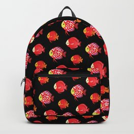 Red discus Backpack