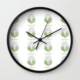 Macauliflower Culkin Wall Clock