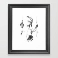 all things grow 3 Framed Art Print