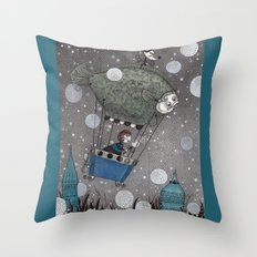 One Thousand and One Star Throw Pillow