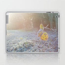 Frozen Leaf Laptop & iPad Skin