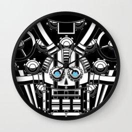 Mechanical Skull Wall Clock