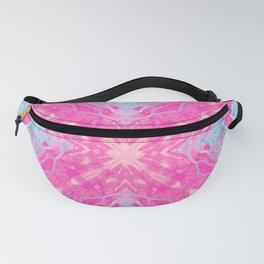 Portal of Thoughts  - Spirit of the Northern Wolf - Pink Fanny Pack